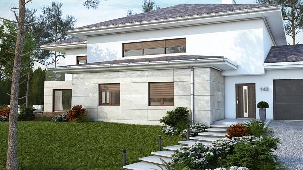 Villa con tapparelle in PVC