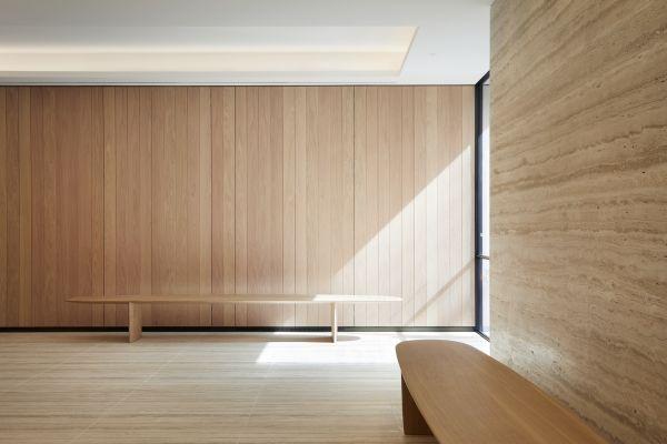 Wood Awards 2019, Categoria Production - Panca Long Bench di Ian McChesney Bench