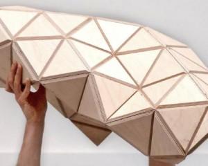 Il legno pieghevole: Wood-Skin