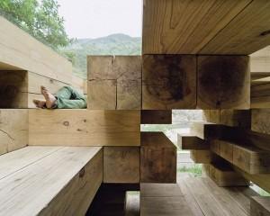 Final Wooden House: il futuro primitivo di Sou Fujimoto