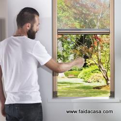Zanzariere faidate - Smontare maniglia finestra senza viti ...