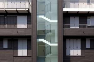 Edificio residenziale rivestito con zinco titanio VMZINC 3
