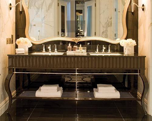 Bellagio by Zucchetti si inserisce perfettamente nell'arredamento dei bagni